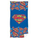 Superman Serviette de plage Logo - 70 x 140 cm - Multi