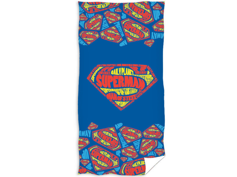 Superman Strandlaken Logo - 70 x 140 cm - Multi