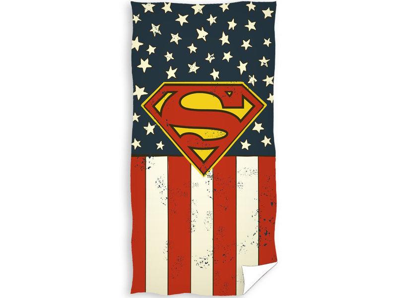Superman Serviette de plage Flag - 70 x 140 cm - Multi