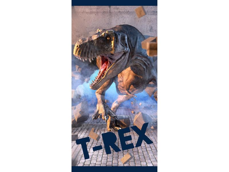 Dinosaurus Serviette de plage T-Rex - 70 x 140 cm - Multi