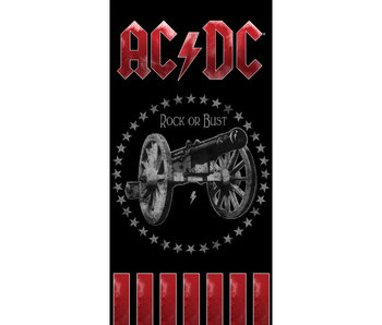 ACDC Strandtuch 70 x 140 cm