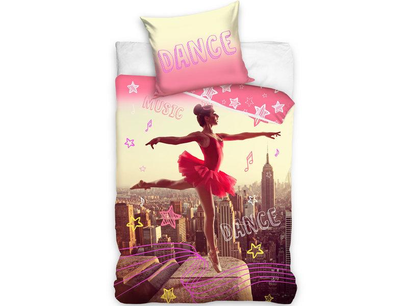 Ballerina Dekbedovertrek Ballet - Eenpersoons - 140  x 200 cm - Multi