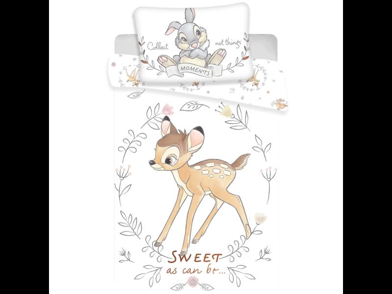 Disney Bambi Sweet Baby Dekbedovertrek - 100 x 135 cm - Multi