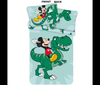 Disney Mickey Mouse Baby Dekbedovertrek Dino 100x135 + 40/60cm katoen