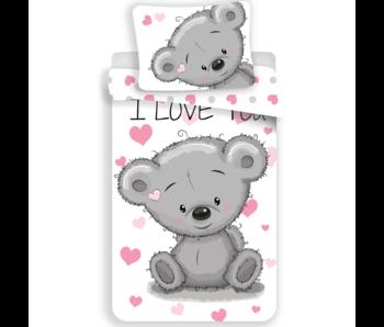 Love Bettbezug Teddybär 140 x 200