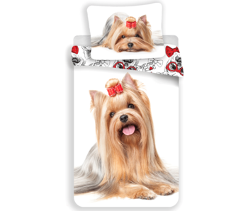 Animal Pictures Bettbezug Yorkshire Terrier 140 x 200