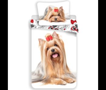 Animal Pictures Bettbezug Yorkshire Terrier 140 x 200