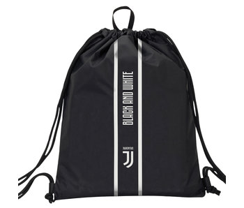 Juventus Gymbag Black and White - 47 cm