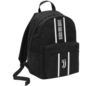 Juventus Backpack Black and White - 42 cm