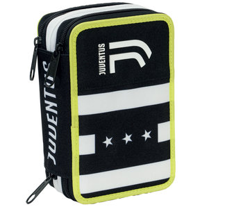 Juventus Gevuld Etui Advanced 3 Zip - 45 st.