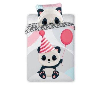 Tuli Tuli BABY Dekbedovertrek Panda 100 x 135 cm