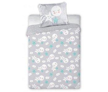 Tuli Tuli BABY Bettbezug Sterne 100 x 135 cm