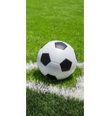 Voetbal Strandlaken - 70 x 140 cm - Groen