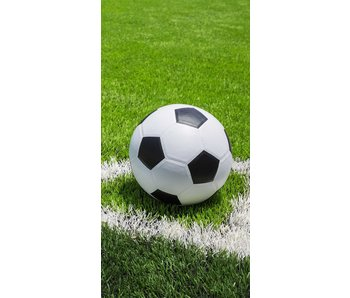 Voetbal Strandtuch 70 x 140 cm