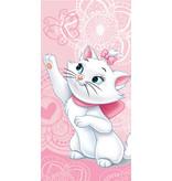 Disney Aristocats Beach towel Marie Cat - 70 x 140 cm - Pink