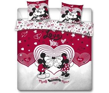 Disney Minnie Mouse Dekbedovertek Love You 240 x 220 cm