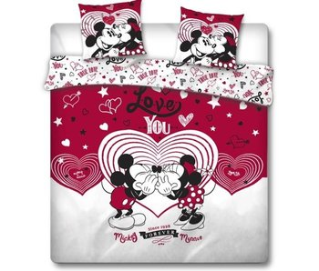 Disney Minnie Mouse Housse de couette Love You 240 x 220 cm