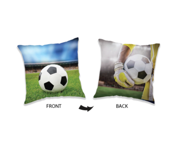 Voetbal Kissen 40 x 40 cm
