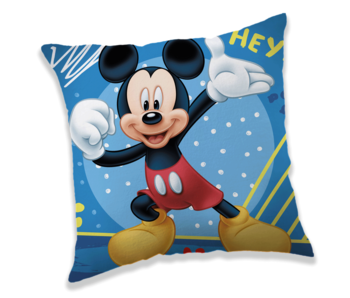 Disney Mickey Mouse Coussin Hey 40 x 40 cm