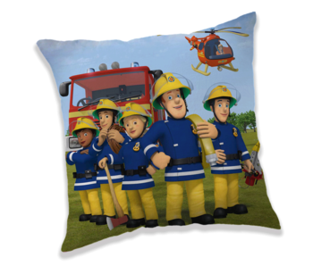 Brandweerman Sam Kussen 40 x 40 cm
