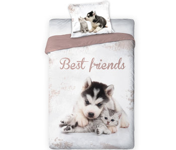 Animal Pictures Dekbedovertrek Best Friends 140 x 200