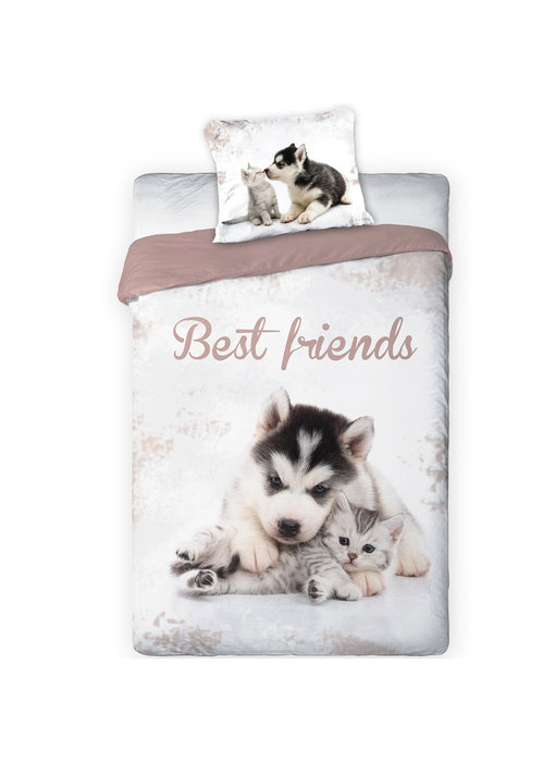 Animal Pictures Duvet cover Best Friends 140 x 200