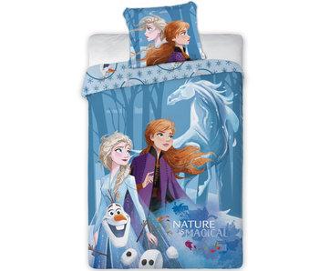 Disney Frozen Dekbedovertrek Magical 140 x 200 cm
