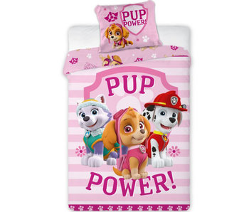 PAW Patrol Dekbedovertrek Pup Power 140 x 200 cm