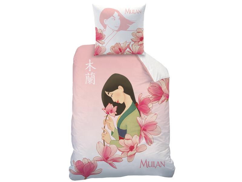 Disney Mulan Duvet cover blossom - Single - 140 x 200 cm - Pink
