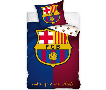 FC Barcelona Dekbedovertrek Logo 140 x 200