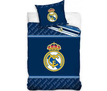Real Madrid Dekbedovertrek Logo 140 x 200