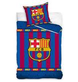 FC Barcelona Dekbedovertrek - Eenpersoons - 140  x 200 cm - Multi