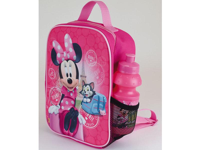 Disney Minnie Mouse Kühltasche Paris - 27 x 21 x 10 cm - Pink