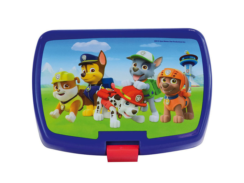 PAW Patrol Lunchbox - 16 x 11 x 5 cm - Blauw