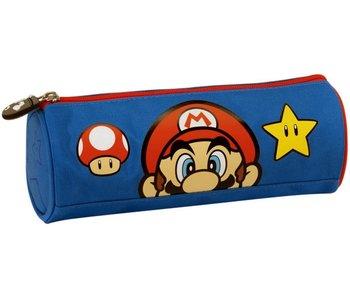 Super Mario Federmappe Gesicht - 22 cm