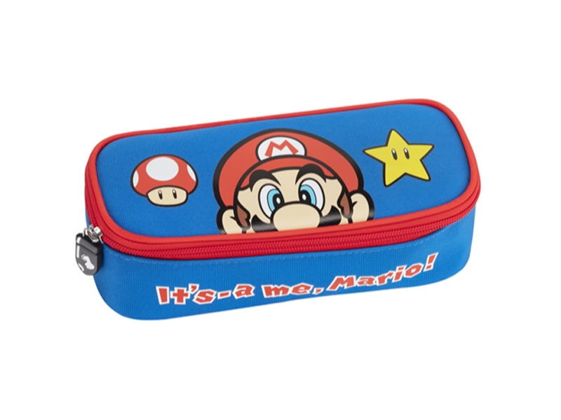 Super Mario Gevuld Etui Power-Up - 5 st. - Blauw