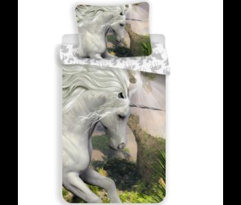 Unicorn Dekbedovertrek Mystical 140 x 200