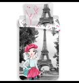 Parijs Housse de couette Love - Unique - 140 x 200 cm - Multi
