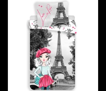 Parijs Dekbedovertrek Love 140 x 200