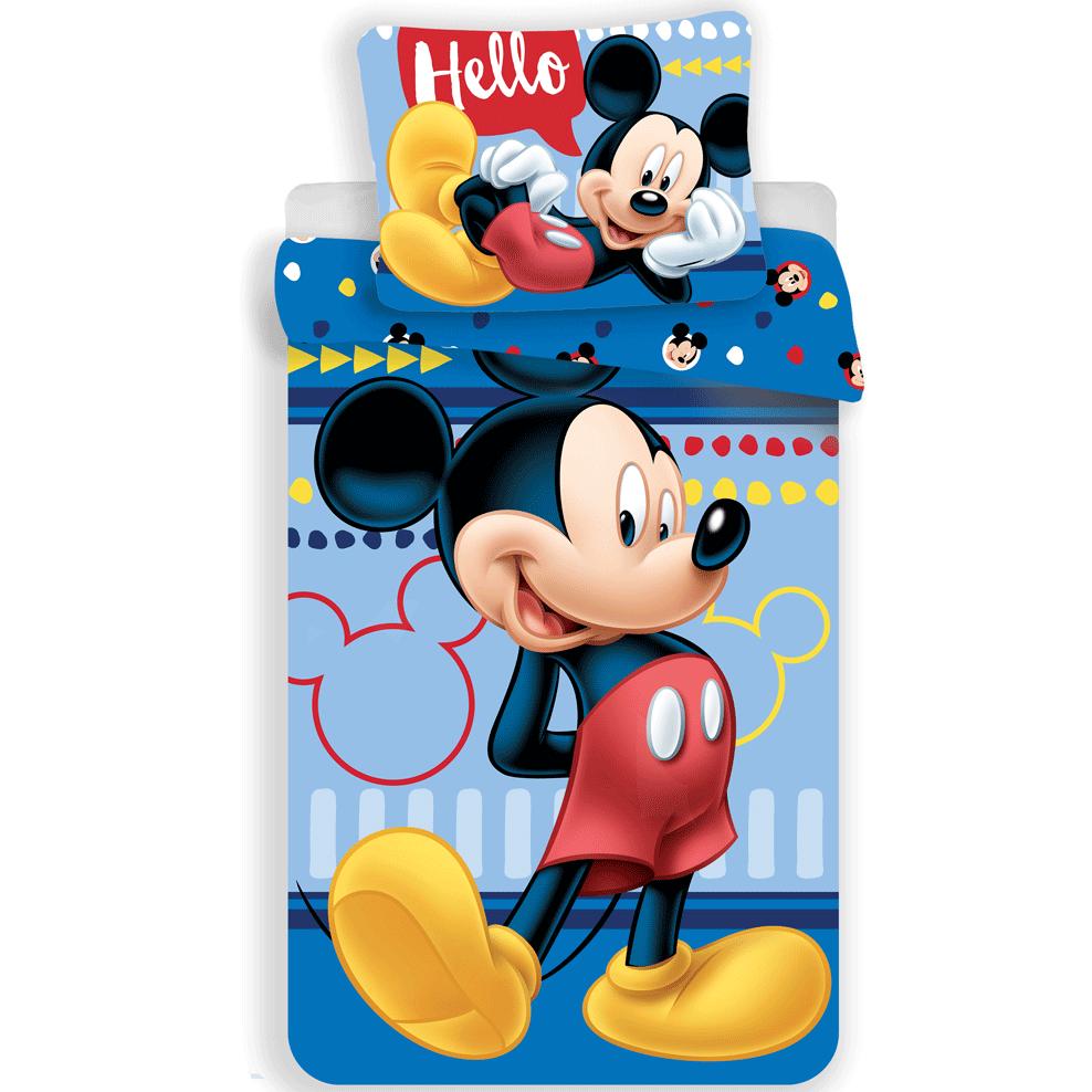 Housse De Couette Disney Mickey Mouse Hello Simbashop Nl