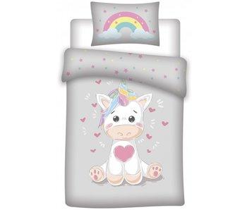 Unicorn BABY Dekbedovertrek 100 x 135 cm