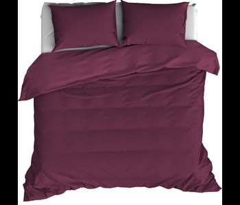 De Witte Lietaer Bettbezug Baumwollsatin Olivia Beet Red 200 x 200/220 cm
