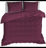 De Witte Lietaer Duvet cover Cotton Satin Olivia - Hotel size - 260 x 240  cm - Red