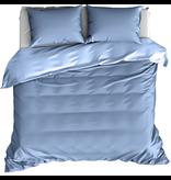 De Witte Lietaer Dekbedovertrek Katoen Satijn Olivia - Hotelmaat - 260 x 240 cm - Blauw