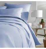 De Witte Lietaer Dekbedovertrek Katoen Satijn Olivia - Eenpersoons- 140 x 200/220 cm - Blauw