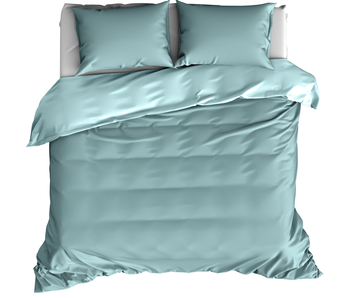 De Witte Lietaer Duvet cover Cotton Satin Olivia Sea Angel 240 x 220 cm