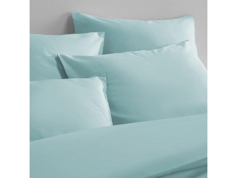 De Witte Lietaer Duvet cover Cotton Satin Olivia - Lits Jumeaux - 240 x 220 cm - Green