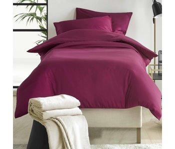 De Witte Lietaer Bettbezug Baumwollsatin Olivia Beet Red 140 x 200/220 cm