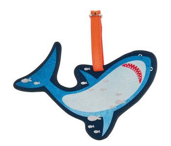 Floss & Rock Gepäcketikett Hai - 16 cm