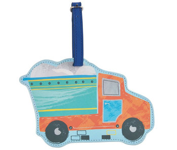 Floss & Rock Bagage Label Truck - 15.5 cm